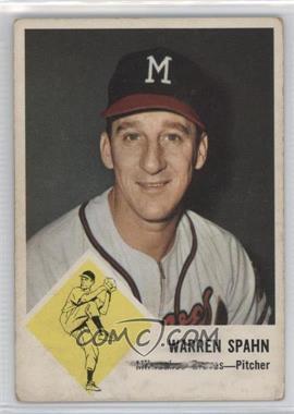 1963 Fleer - [Base] #45 - Warren Spahn [GoodtoVG‑EX]