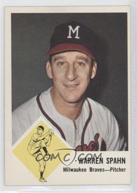 1963 Fleer - [Base] #45 - Warren Spahn