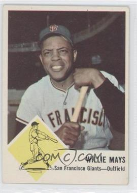 1963 Fleer - [Base] #5 - Willie Mays
