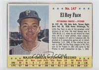 Roy Face [GoodtoVG‑EX]