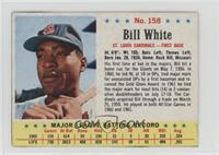 Bill White [Noted]