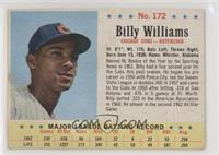 Billy Williams [Poor to Fair]
