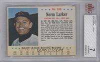 Norm Larker [BVG 7 NEAR MINT]
