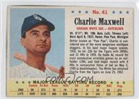 Charlie Maxwell [GoodtoVG‑EX]