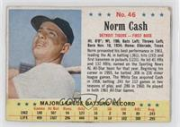 Norm Cash [Good to VG‑EX]