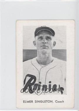 1963 Seattle Rainiers Popcorn - [Base] #ELSI - Elmer Singleton [Noted]
