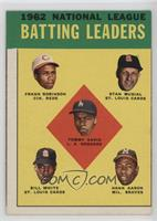 1962 National League Batting Leaders (Frank Robinson, Stan Musial, Tommy Davis,…