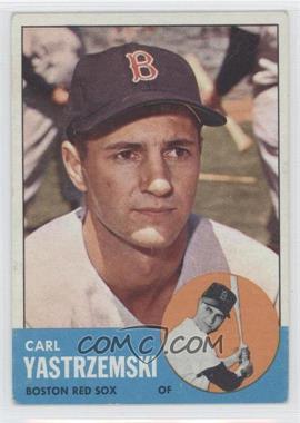 1963 Topps - [Base] #115 - Carl Yastrzemski