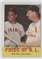 Pride of the N.L. (Willie Mays, Stan Musial)