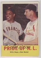 Pride of the N.L. (Willie Mays, Stan Musial) [PoortoFair]