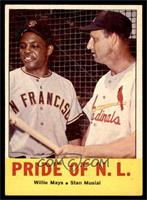 Pride of the N.L. (Willie Mays, Stan Musial) [EX]