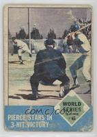 World Series Game #6 (Billy Pierce) [Poor]