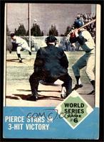 World Series Game #6 (Billy Pierce) [GOOD]