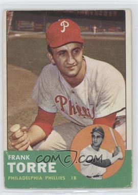 1963 Topps - [Base] #161 - Frank Torre