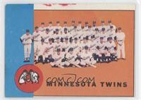 Minnesota Twins Team [Noted]