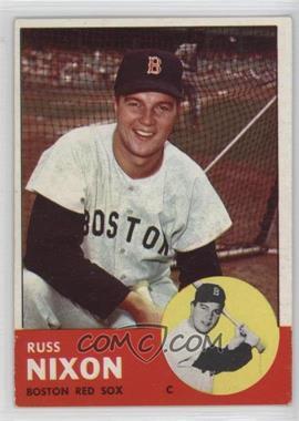 1963 Topps - [Base] #168 - Russ Nixon