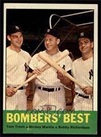 Bombers' Best (Tom Tresh, Mickey Mantle, Bobby Richardson) [EX]