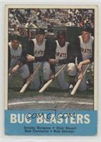 Buc Blasters (Smoky Burgess, Dick Stuart, Roberto Clemente, Bob Skinner) [Poor&…