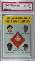 1962 American League Batting Leaders (Mickey Mantle, Floyd Robinson, Pete Runne…