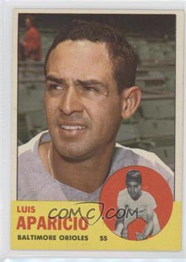 1963 Topps - [Base] #205 - Luis Aparicio