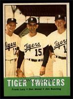 Tiger Twirlers (Frank Lary, Don Mossi, Jim Bunning) [NM]