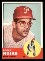 1963 Topps Base Cookie Rojas Rookie Card Baseball Cards