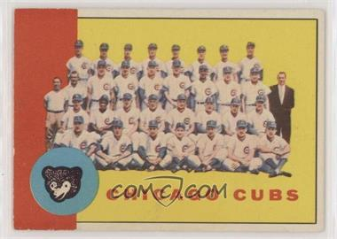 1963 Topps - [Base] #222 - Chicago Cubs Team