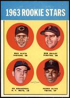 1963 Rookie Stars (Max Alvis, Bob Bailey, Ed Kranepool, Pedro Oliva) [NMM…
