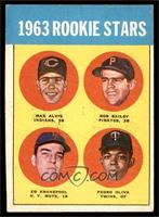 1963 Rookie Stars (Max Alvis, Bob Bailey, Ed Kranepool, Pedro Oliva) [EXM…