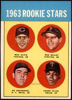 1963 Rookie Stars (Max Alvis, Bob Bailey, Ed Kranepool, Pedro Oliva) [NM]