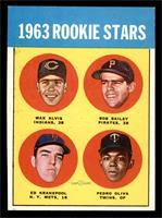 1963 Rookie Stars (Max Alvis, Bob Bailey, Ed Kranepool, Pedro Oliva) [EX]