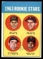 1963 Rookie Stars (Max Alvis, Bob Bailey, Ed Kranepool, Pedro Oliva) [VG]