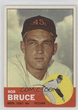 1963 Topps - [Base] #24 - Bob Bruce [GoodtoVG‑EX] - Courtesy of COMC.com