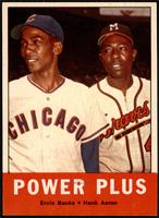 Power Plus (Ernie Banks, Hank Aaron) [NM+]