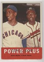 Power Plus (Ernie Banks, Hank Aaron) [Good to VG‑EX]