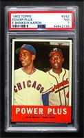 Power Plus (Ernie Banks, Hank Aaron) [PSA 7 NM]