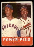 Power Plus (Ernie Banks, Hank Aaron) [GOOD]