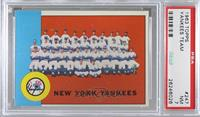 New York Yankees Team [PSA7NM]