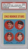1963 Rookie Stars (Len Gabrielson, Pete Jernigan, Deacon Jones, John Wojcik) [P…