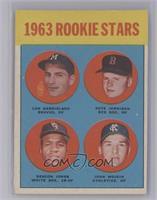 1963 Rookie Stars (Len Gabrielson, Pete Jernigan, Deacon Jones, John Wojcik) [V…