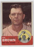 Hal Brown [GoodtoVG‑EX]