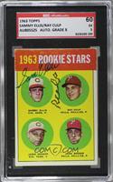 1963 Rookie Stars (Sammy Ellis, Ray Culp, Jesse Gonder, John Boozer) [SGC…