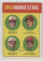 1963 Rookie Stars (Sammy Ellis, Ray Culp, Jesse Gonder, John Boozer)