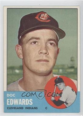 1963 Topps - [Base] #296 - Doc Edwards