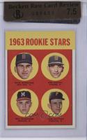 1963 Rookie Stars (Dave Morehead, Dan Schneider, Tom Butters) [BRCR7.5]