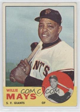 1963 Topps - [Base] #300 - Willie Mays