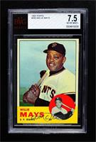 Willie Mays [BVG 7.5 NEAR MINT+]