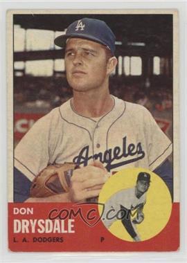1963 Topps - [Base] #360 - Don Drysdale