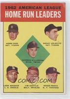 1962 American League Home Run Leaders (Norm Cash, Rocky Colavito, Harmon Killeb…