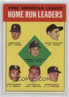 1962 American League Home Run Leaders (Norm Cash, Rocky Colavito, Harmon Killeb…